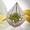 Золотой флорариум! Изысканный подарок на 8 Марта! Хит. #1704028