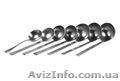 Алюминиевые столовые черпаки  разных размеров.