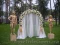 свадебное оформление, флористика, текстиль, драпировка, декор