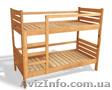 Кровати детские натуральное дерево массив ольха отличное качество от производите