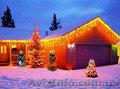 Светодиодные гирлянды, новогодние украшения, украшение дома, иллюминация