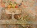 Фрески в любом стиле,  декоративные штукатурки - венецианские,  имитация мрамора,