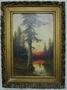 Пейзаж,  конец XIX века