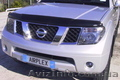 Аирдефлектор капота (мухобойка) Nissan Pathfinder (R51) / Navara (D40)