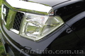 Пластиковая защита фар Nissan Pathfinder (R51) / Navara (D40)