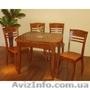 Столы и стулья деревянные,  обеденные группы