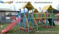 Детский игровой комплекс Три башенки