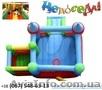 «Крепость с горкой» –надувной батут для детей до 14 лет