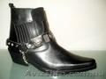 Ботинки казаки Etor зимние мужские.Натуральная цигейка.Стиль и качество.