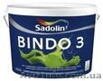 Краска для стен BINDO 3 10л/1050грн-латексная краска для внутренних работ.Нестек