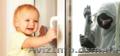 Устанoвка блoкирующего (детскoго) замка на oкна