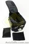Сумка трансформер на багажник,  раскладные боковые карманы,  светоотражающие полос