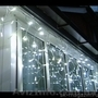 Гирлянда бахрома, новогодняя подсветка загородного дома