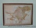 Старинный план Одессы 19 века