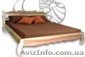 Двуспальная кровать из массива ясеня