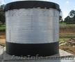 Модульные резервуары в металлическом каркасе на 100 м3 и более