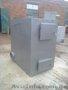Твердотопливный пиролизный котел серии KFPV-100 от производителя.
