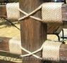 Канат з волокон джгута