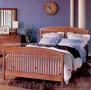двухспальная кровать Лаура из натурального дерева