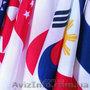 Изготовление флагов.