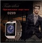 Elough DZ09 Smart Watch Bluetooth Смарт часы Поддержка Sim карта TF карта