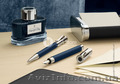 Подарочная ручка файнлайнер коллекции Night Blue,  Metal