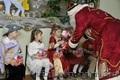 Поздоровлення від Діда Мороза та Снігуроньки 31 грудня.