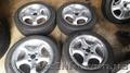 диски легкосплавные borbrt 4x100 r16 c летними шинами