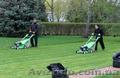 Уход за газоном,  вычесывание газона