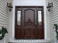 Деревянная входная дверь в дом  №8