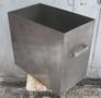 Бак прямокутний з нержавіючої сталі,  112 л.