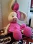 Продам игрушку вязаная Зайка девочка.