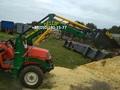 Погрузчик на мини трактор Kubota saturn X 24.